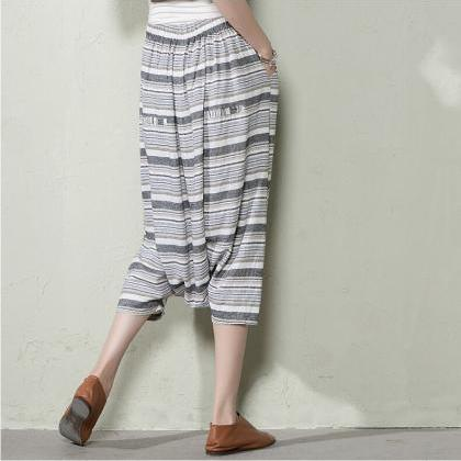 Women Haroun Pants Plus Size Summer..